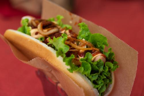 Hot Dog aus Chile